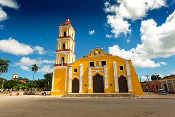 Church in Remedios, Cuba