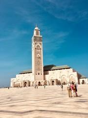 Acrylic Prints Morocco Grande mosquée de Casablanca