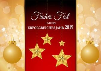 Frohes Fest und ein erfolgreiches Jahr 2019