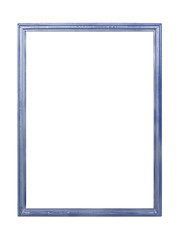frame Isolated on white background with space for text.