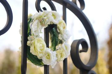 フラワーリース リース ゲート 結婚式場