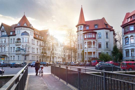 Gründerzeithäuser im Leipziger Waldstraßenviertel