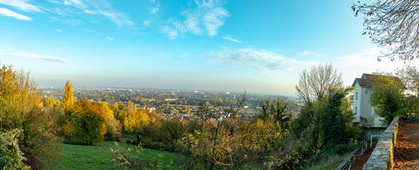 Vue panoramique sur la ville de Metz