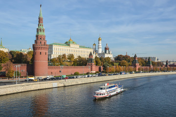 Poster Moscow Moscow Kremlin from the embankment.