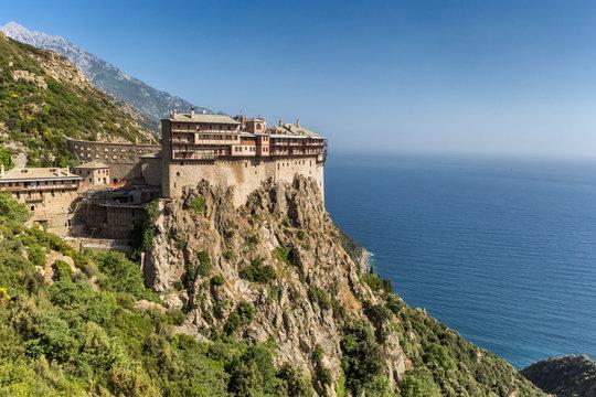 Simonopetra monastery, Simonos Petra, Mount Athos, Athos peninsula, Greece