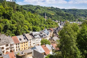 Luxembourg, View of Vianden