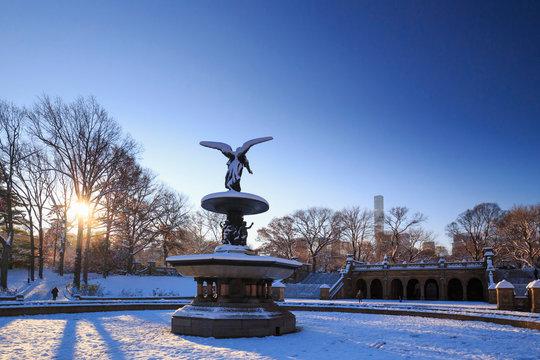 Usa, New York City, Manhattan, Central Park