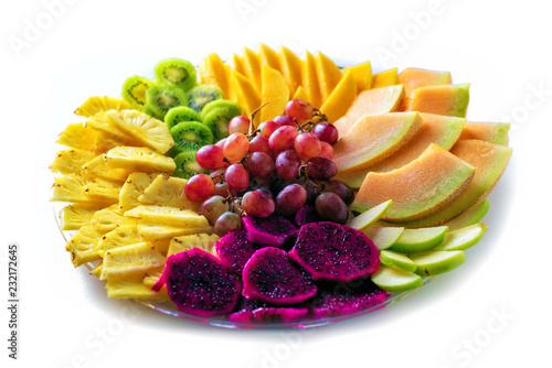 Colorful, healthy foods great idea for good nutrition, vitamins gift