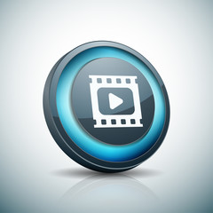 Play Video Button illustration