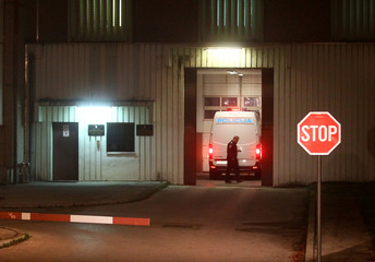 Police van reportedly carrying Agrokor founder, Ivica Todoric, enters Remetinec jail in Zagreb