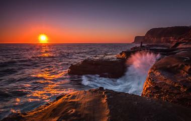 Avoca's sunrise