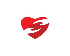 Heart Care logo vector