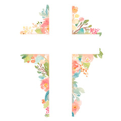 Watercolor Flower Background Designs