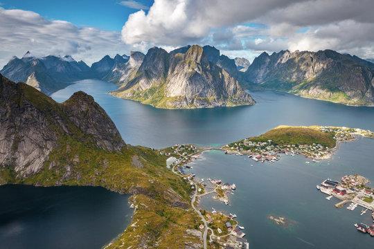 The Fishing Village of Reine in Lofoten, Norway
