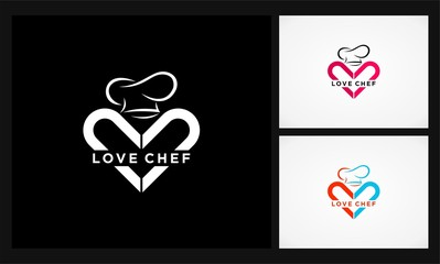 love chef icon logo