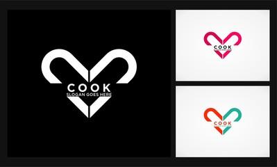 love cook logo