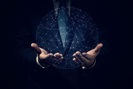 ビジネスイメージ ネットワーク