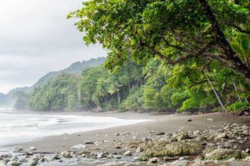 Beach at Corcovado National Park, Costa Rica Fototapete