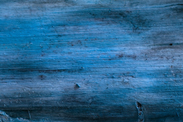 blue mysterious pine wood texture without bark natural background