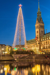 Christmas time in Hamburg