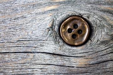 Vintage copper button