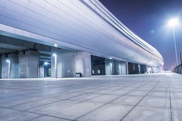 High speed railway station