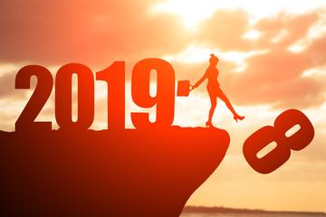 say goodbye to 2018 year