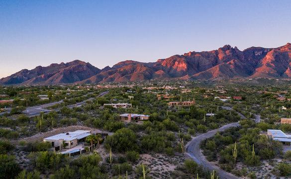 The Catalina Mountains located in Tucson, Arizona