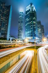 Night view of Hong Kong,China