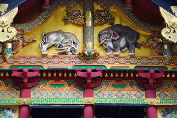Nikko Toshogu Shrine,Nikko,Tochigi,Japan