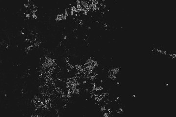 Abstract monochrome background. Black and white texture pattern with ink spots, cracks, stains. for printing and design