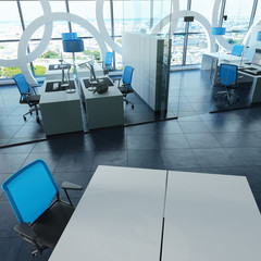 Modern office  in tower