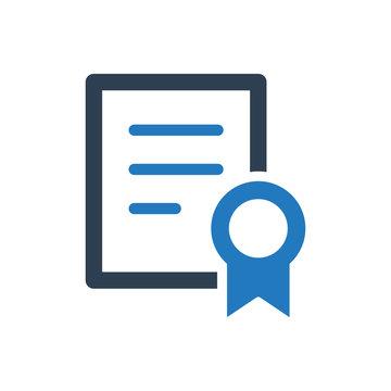Licence vector icon