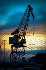 crane in Gothenburg