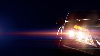 Car of light