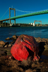 red stone in Gothenburg