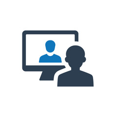 Online Interview Icon