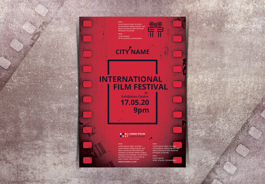 Film Festival Poster Layout