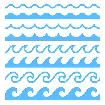 Vector Textures Water Waves