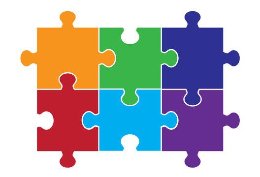 Six Piece Puzzle
