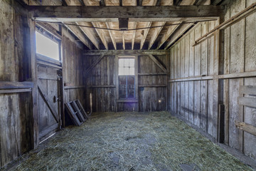 Old Horse Barn at Wilder Ranch State Park. Santa Cruz, California, USA.