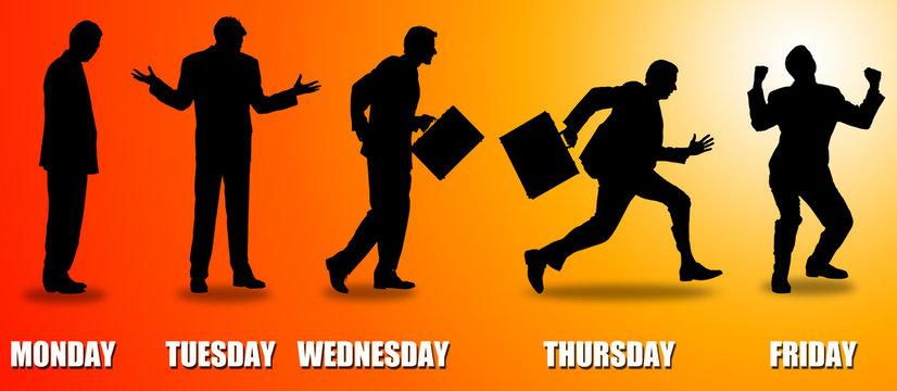 weekday workers