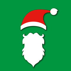 Santa Klaus Weihnachtsmann Kopf