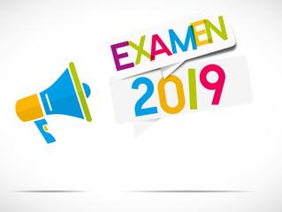 mégaphone : examen 2019