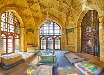Interior of Hafezieh, Shiraz, Iran