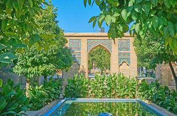 Relax in Mussala Gardens, Shiraz, Iran