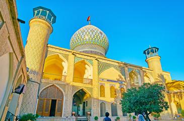 Architectural ensemble of Imamzadeh Ali Ibn Hamzeh Holy Shrine, Shiraz, Iran