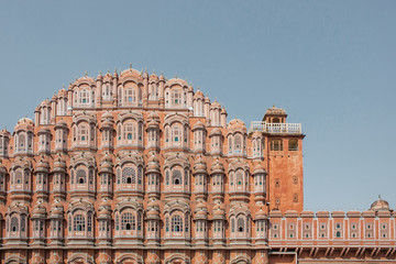 Hawa Mahal palace or Palace of the Winds in Jaipur city, India
