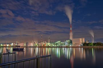 工場夜景 (10月)