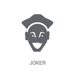 Joker icon. Trendy Joker logo concept on white background from Fairy Tale collection